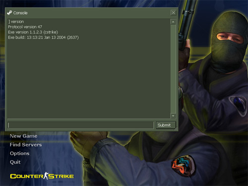 Counter Strike 1.6 v.6 (полная игра   чистая версия)